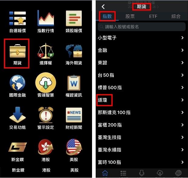 美國道瓊期貨報價三竹資訊.jpg