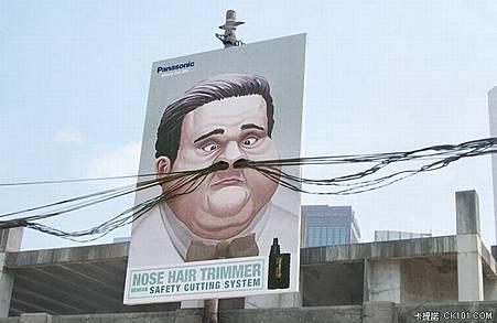 超有創意的戶外廣告