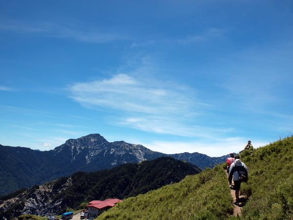 目標合歡山東峰