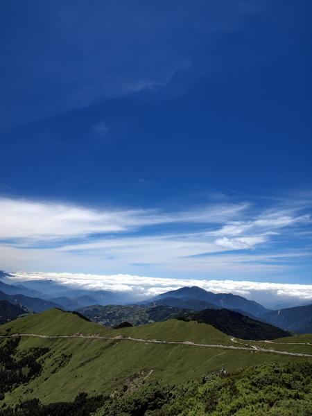 遠方的雲海
