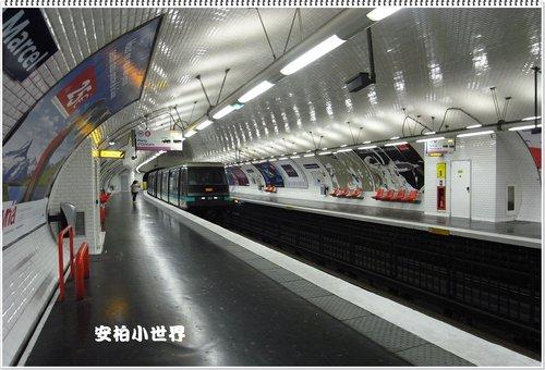 巴黎的地鐵站