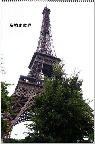 到了!艾菲爾鐵塔!