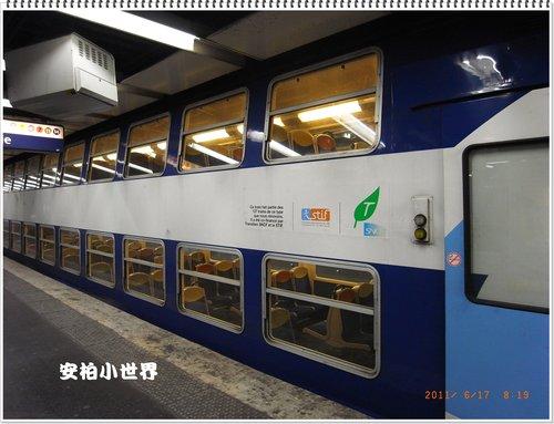 雙層的地鐵車廂