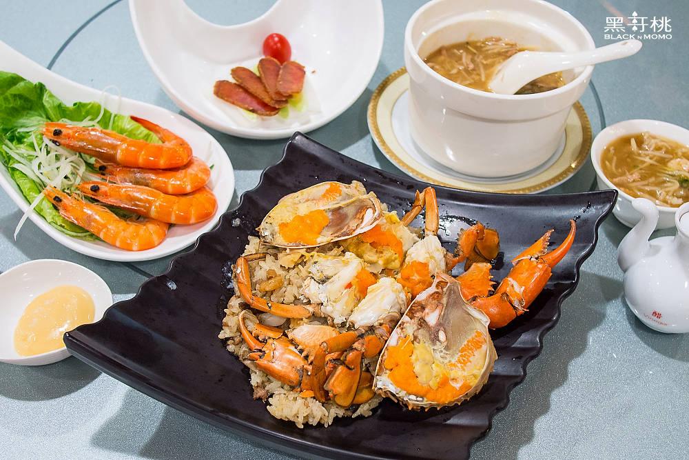 阿霞飯店,台南美食,紅蟳米糕,台南旅遊