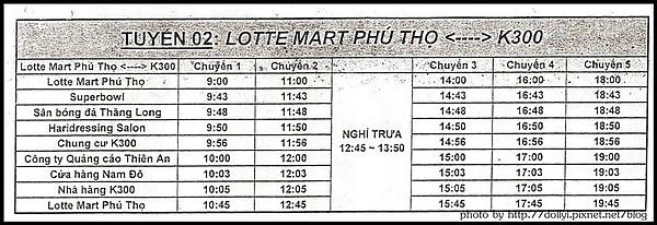 Dist.11 Lotte Mart Shuttle Bus Route2.jpg