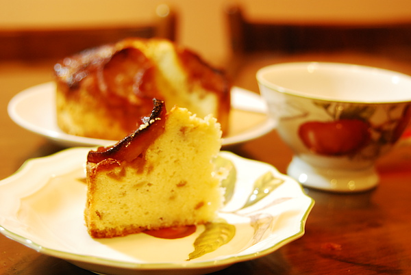焦糖蘋果蛋糕2