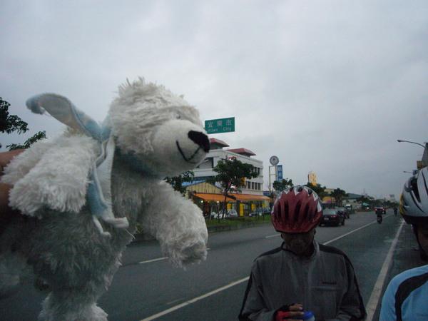 宜蘭耶,小熊的圍巾在飛