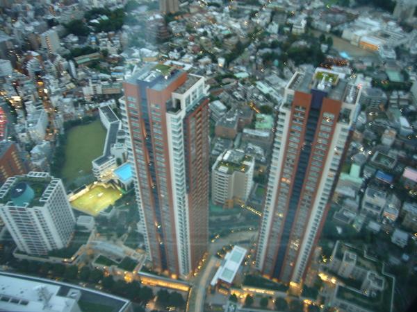tokyo city view往下看