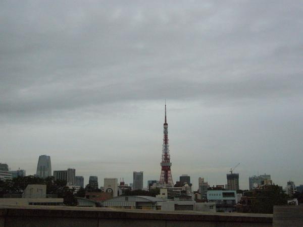 從六本木看東京鐵塔