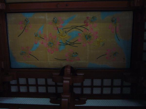 寺廟天花板