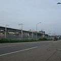 機場捷運-即將抵達高鐵桃園站前