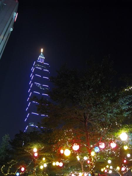 信義區賞聖誕燈.JPG