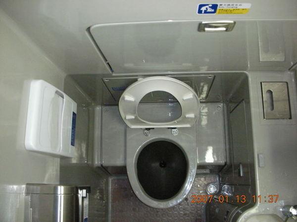 全新的廁所