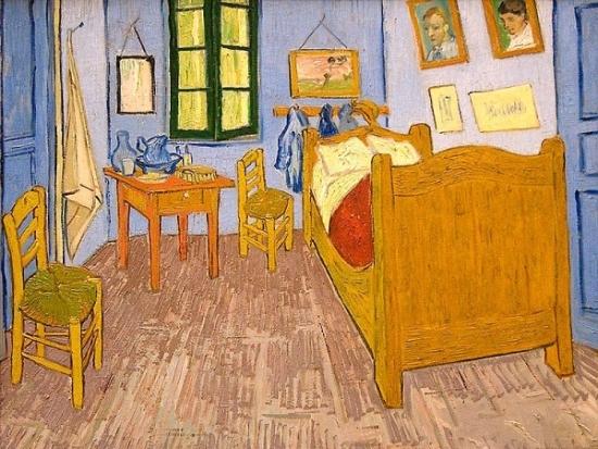 梵谷的房間