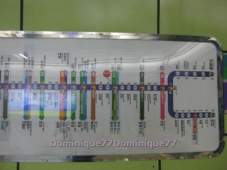 各站轉乘標示
