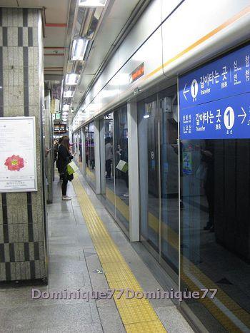地鐵月台2