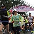 『2012第四屆雙溪櫻花馬拉松,朦朧的櫻花好硬的山路!』