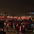 2012臺北國道馬拉松,充滿熱氣的柏油路