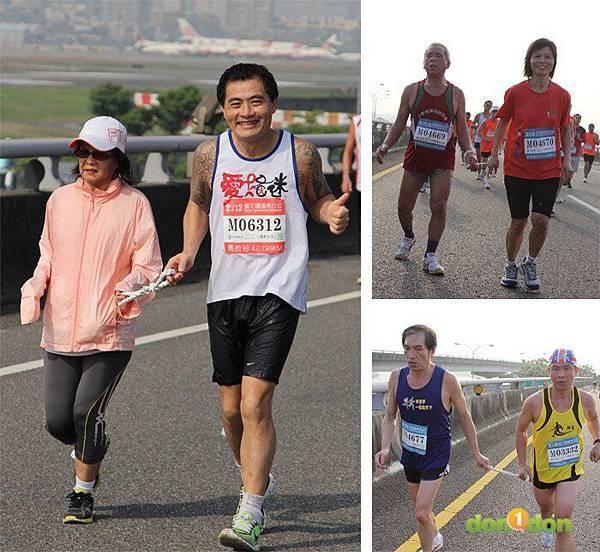 2012臺北國道馬拉松,充滿熱氣的柏油路 (13)