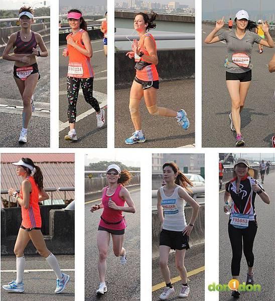 2012臺北國道馬拉松,充滿熱氣的柏油路 (24)