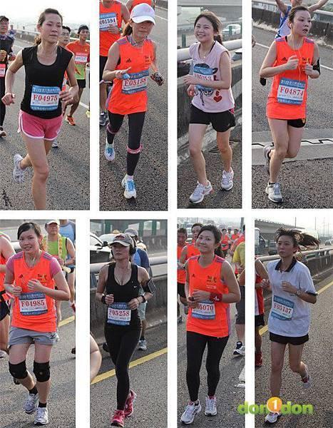 2012臺北國道馬拉松,充滿熱氣的柏油路 (25)