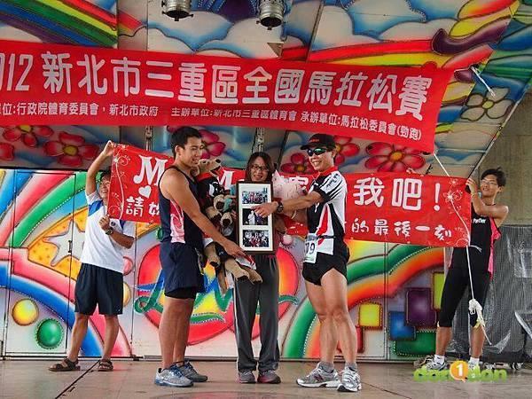 【Wan's 音樂與馬拉松】-『2012三重馬拉松』 (3)