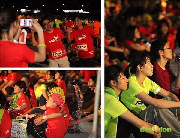 【主題賽事】-『2012PUMA螢光夜跑台北站,一場盛大的螢光party』  (26)