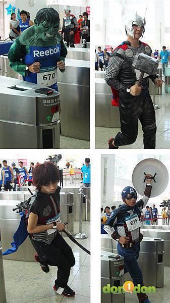 【主題賽事】-『2012渣打‧台北101登高賽,不怕2046階的考驗,直衝上雲霄吧!』 (10)