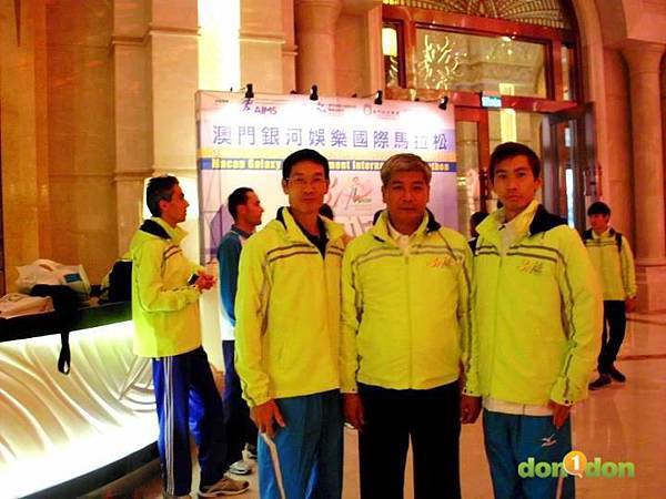 【小編報馬仔】- 『真男人張嘉哲,122出賽澳門銀河國際馬拉松』