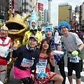 【曉陽的42公里玩樂行】-『東京馬拉松的冒升』7