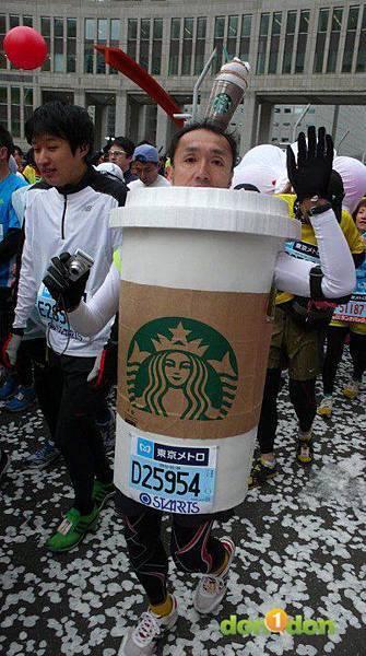 【曉陽的42公里玩樂行】-『東京馬拉松的冒升』8