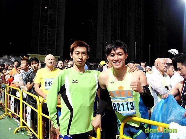 【嘉哲的真男人日記】-「2012澳門銀河娛樂國際馬拉松棄賽實錄 (2)