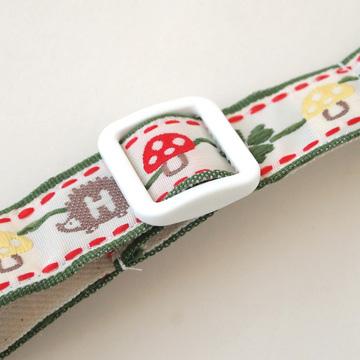 口水巾+手帕夾組-蘑菇6