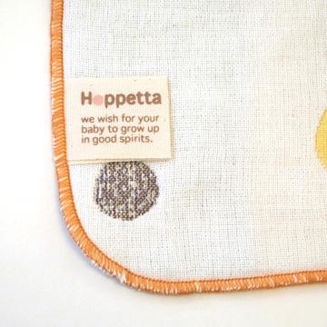 口水巾+手帕夾組-蘑菇7