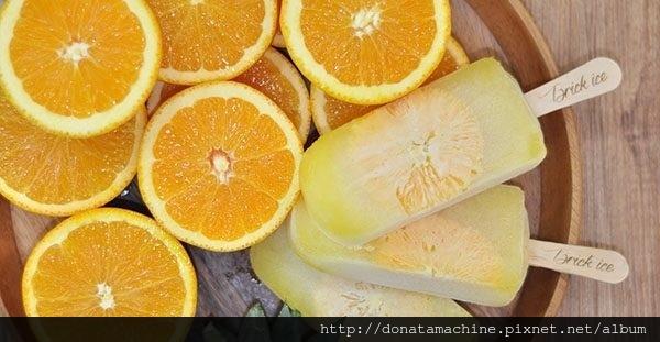 新鮮柳橙鳳梨