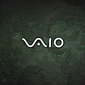 VAIO P Glossy Green Wallpaper 1600x768