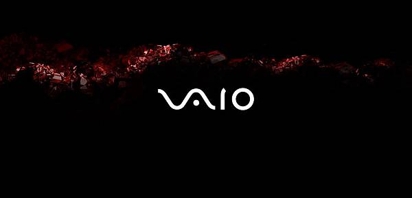 VAIO P Glossy Red Wallpaper 1600x768