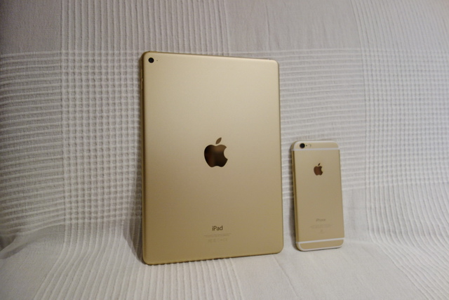 iPad air 2 WiFi 64GB 金色 日版開箱動手玩