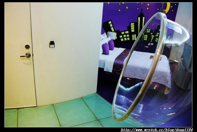 【桃園住宿】激點情境汽車旅館。308紫色愛戀