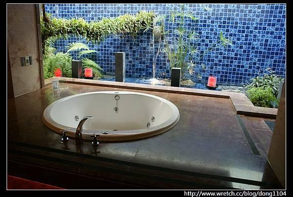 【台中住宿】湖水岸汽車旅館301。水舞系統
