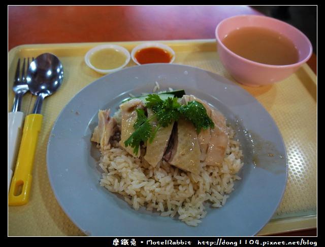 新加坡。牛車水。麥士威熟食中心。興興海南雞飯