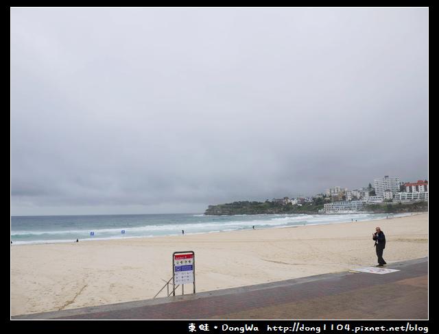 澳洲雪梨。南岬公園。邦迪海灘