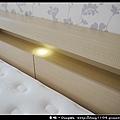 【悅夢床墊】日興木業。無框透氣掀床。收納式床頭附燈