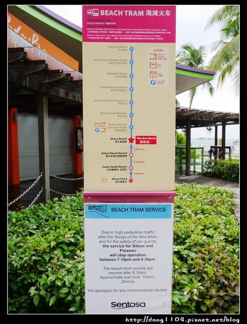 【新加坡自助】行程規劃建議。聖淘沙島景點分享