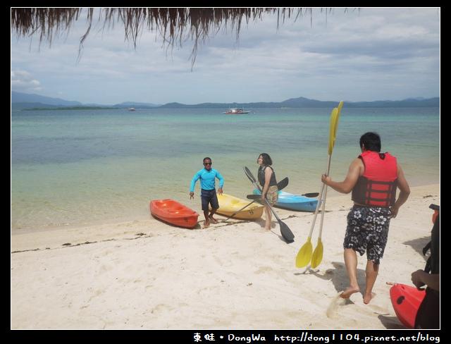 【巴拉望遊記】一島一飯店。Dos Palmas。雙人獨木舟。出海浮潛