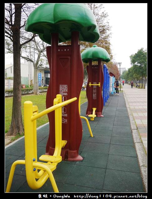 【桃園遊記】玉山公園。整齊的落羽松步道