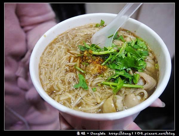 【台北食記】西門町小吃。阿宗麵線立食