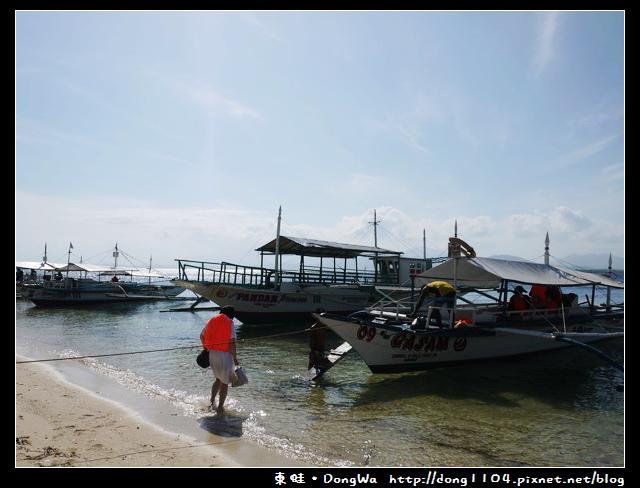 【巴拉望遊記】Honda Bay 本田灣。Pandan Island 班丹島