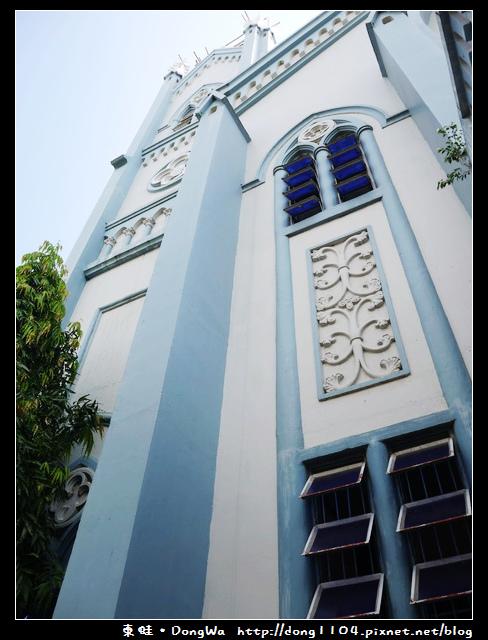 【巴拉望遊記】公主港藍色大教堂。Immaculate Conception Cathedral