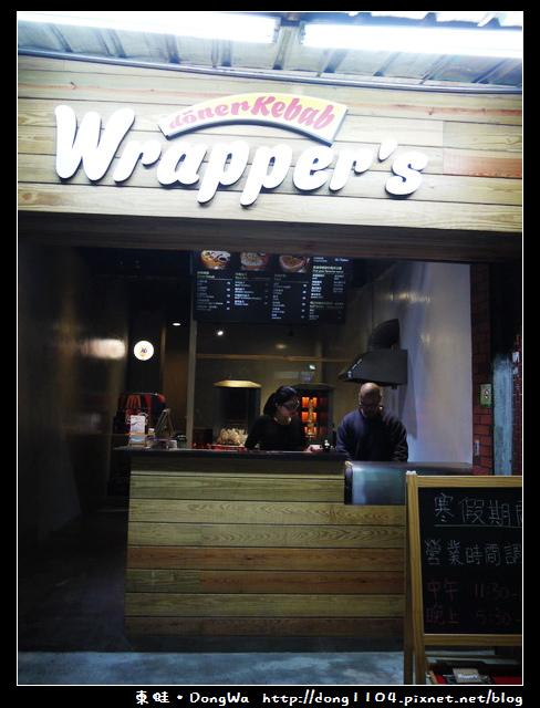【台中食記】東海夜市。Wrapper`s。經典捲餅